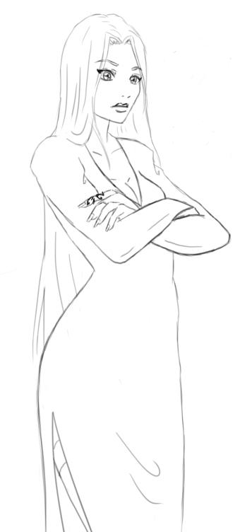 Eneis sketch by Sathila