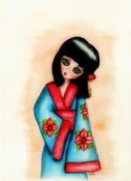 Geisha by BrucaliffoBijoux