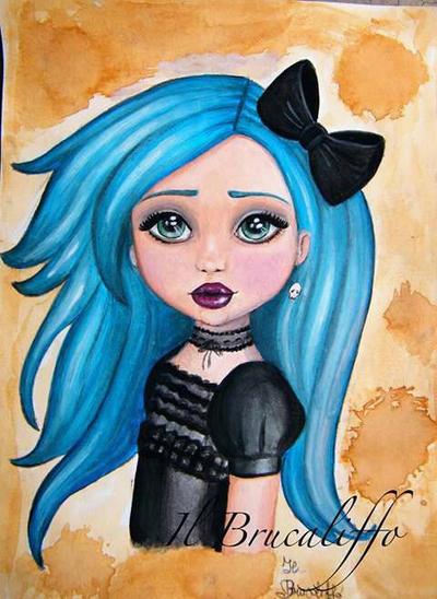 Goth Alice by BrucaliffoBijoux