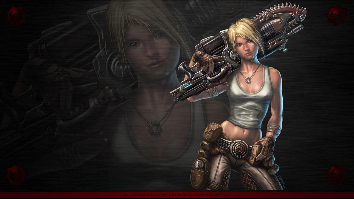 anya gears of war wallpaper 2warballoon on deviantart