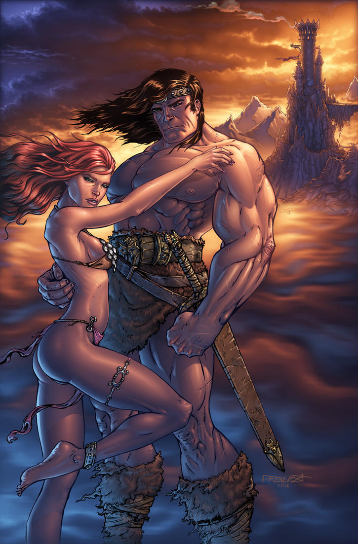 Conan the Barbarian by warballoon