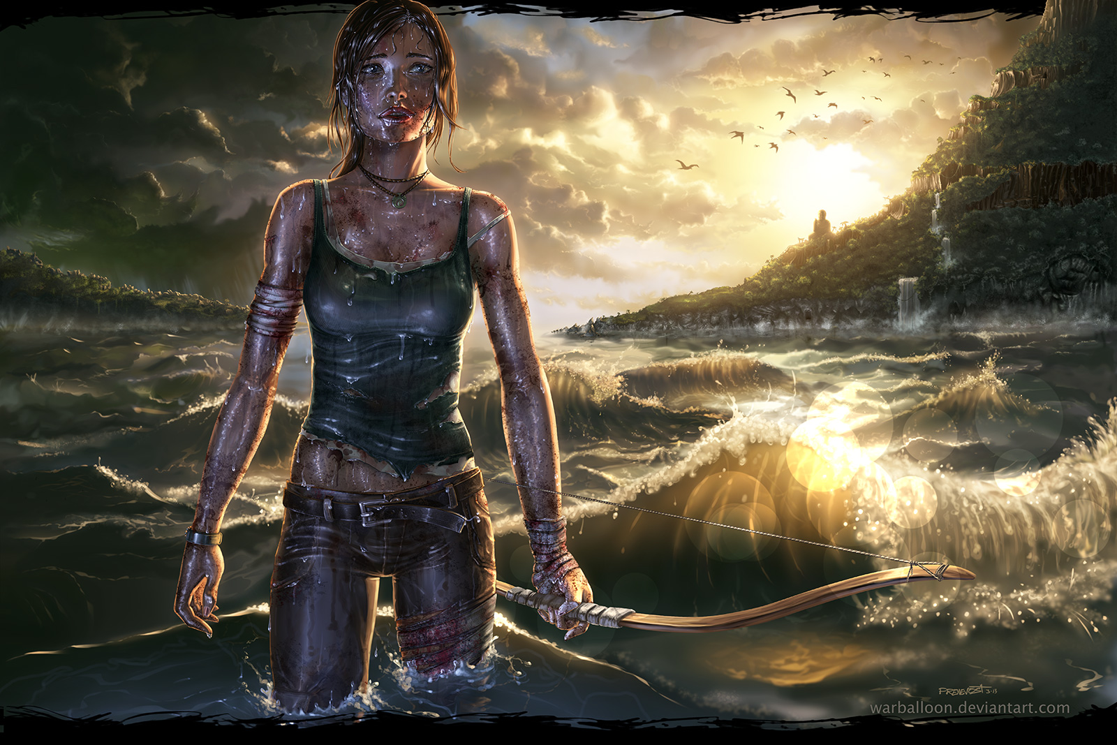 tomb raider reborn V3 by warballoon