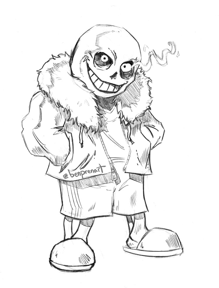 Sans by warballoon