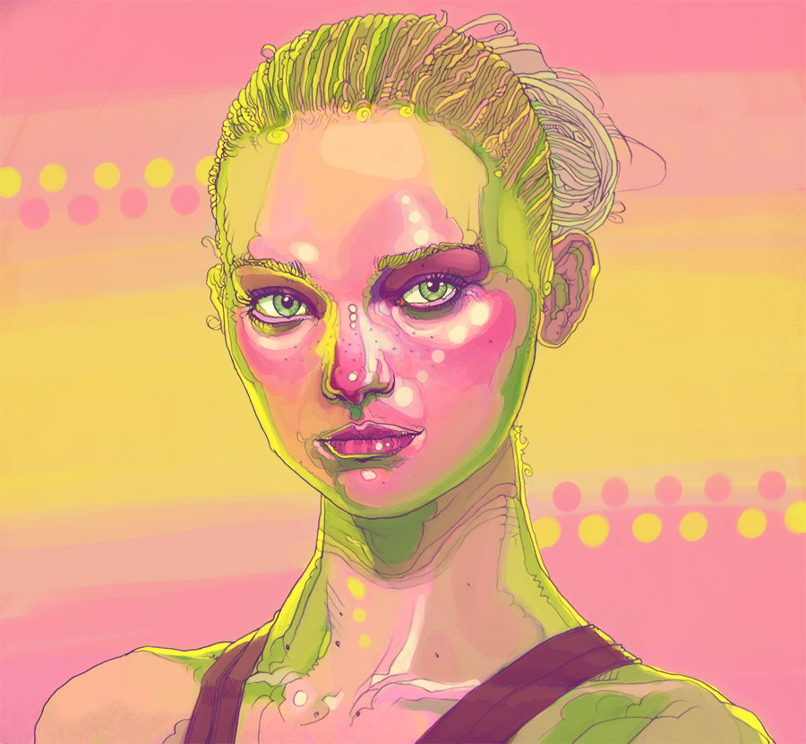 Gemma Ward by Gaulke and Prenevost by warballoon
