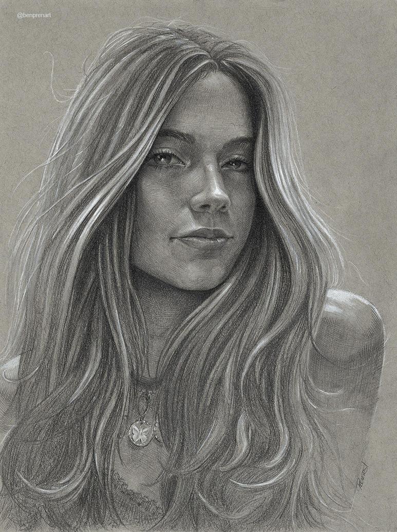 Alejandra portrait commission by warballoon