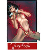 Vampirella for #sixfanarts challenge