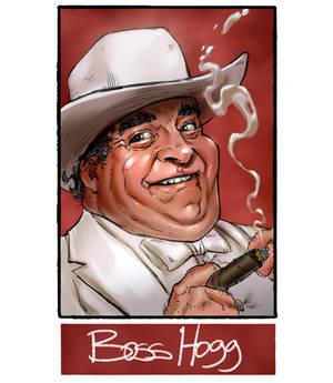 Boss Hogg for #sixfanarts challenge