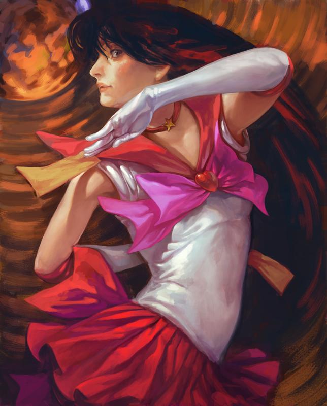 Sailor Mars by k-BOSE