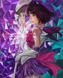 Sailor Saturn by k-BOSE
