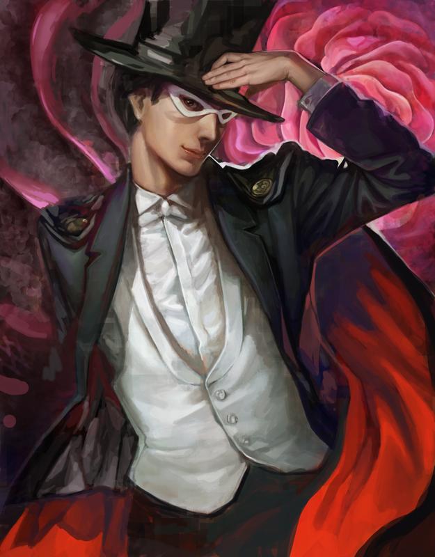 Mamoru Chiba/Tuxedo Mask/Ritter des Mondlichts/Endymion - Bilder Tuxedo_Mask_by_k_BOSE