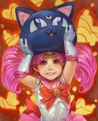 Chibi Moon by k-BOSE