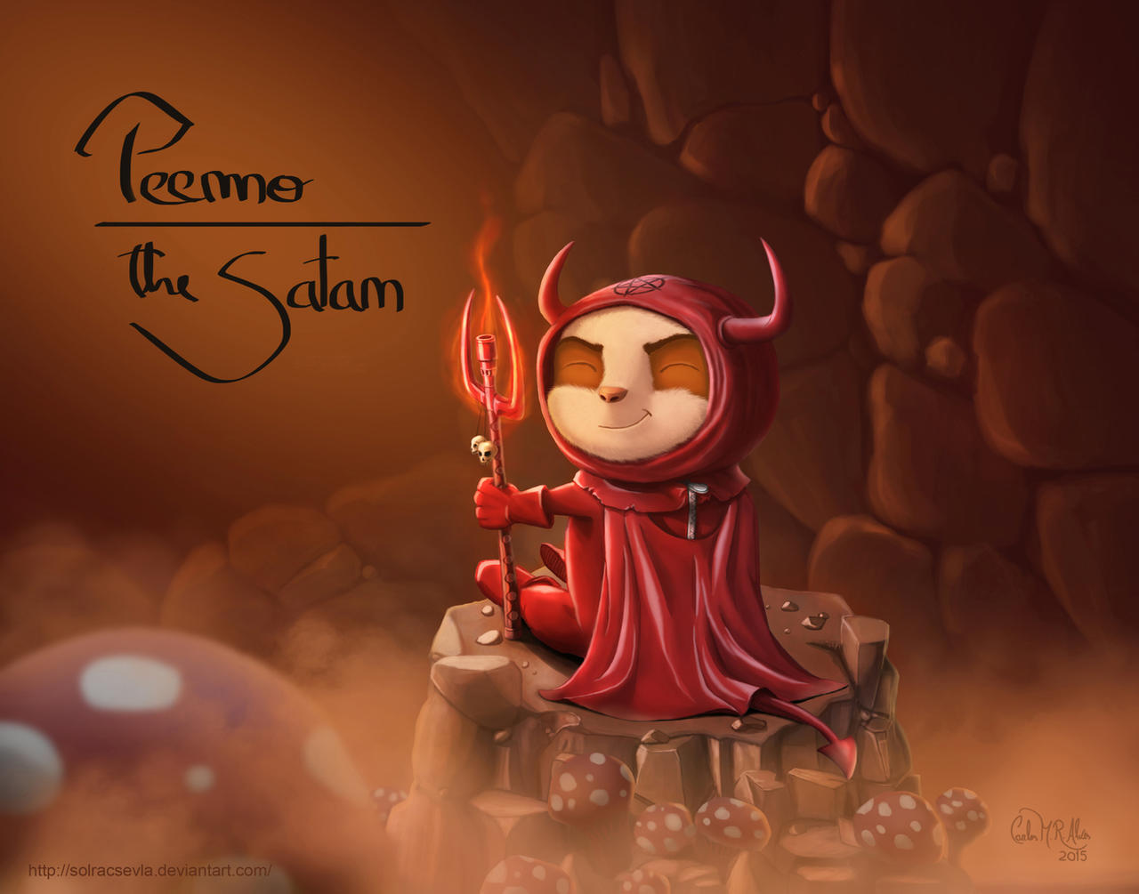 Teemo, the Satan by SolracSevla on DeviantArt
