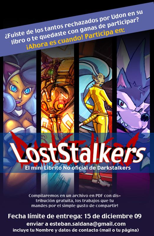 Convocatoria LostStalkers by Tebin-Art