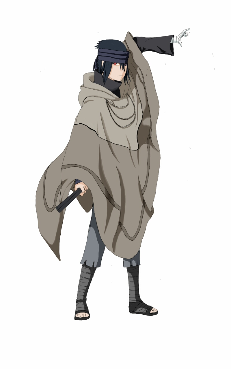 uchiha sasuke fan-art the last naruto movie by Akiraraven ...