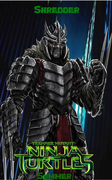 Tmnt Movie Shredder Poster By Muppetman24601 On Deviantart
