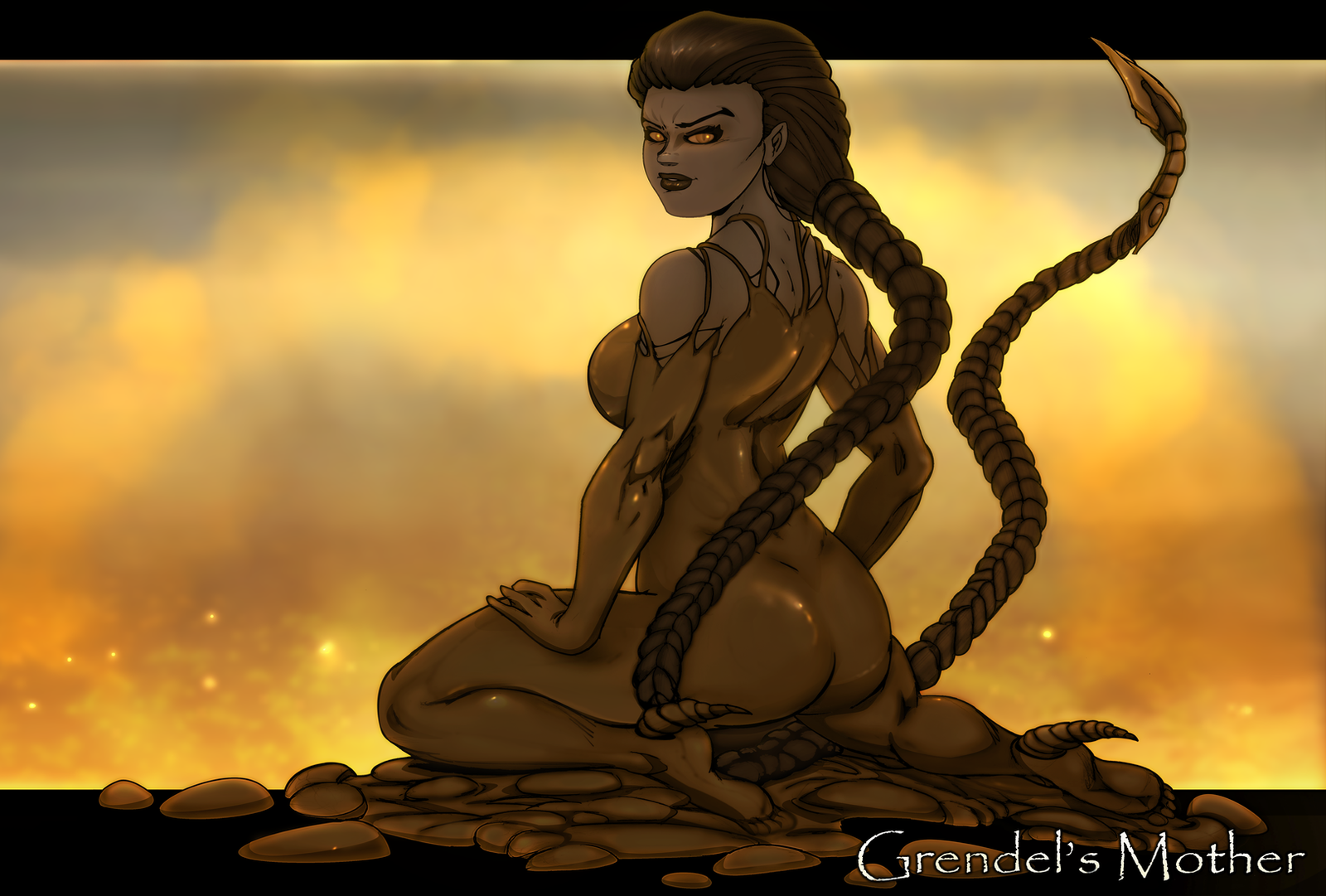 Grendel's Mother by Chronorin on DeviantArt