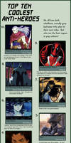Top Ten Coolest Anti-Heroes by Chronorin