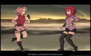 The Sakura and Karin Oni Transformation I