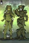 Plantgirls: Natalia and Delphina