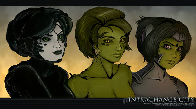 Intrachange City: Murk, Maryl, and Zoel