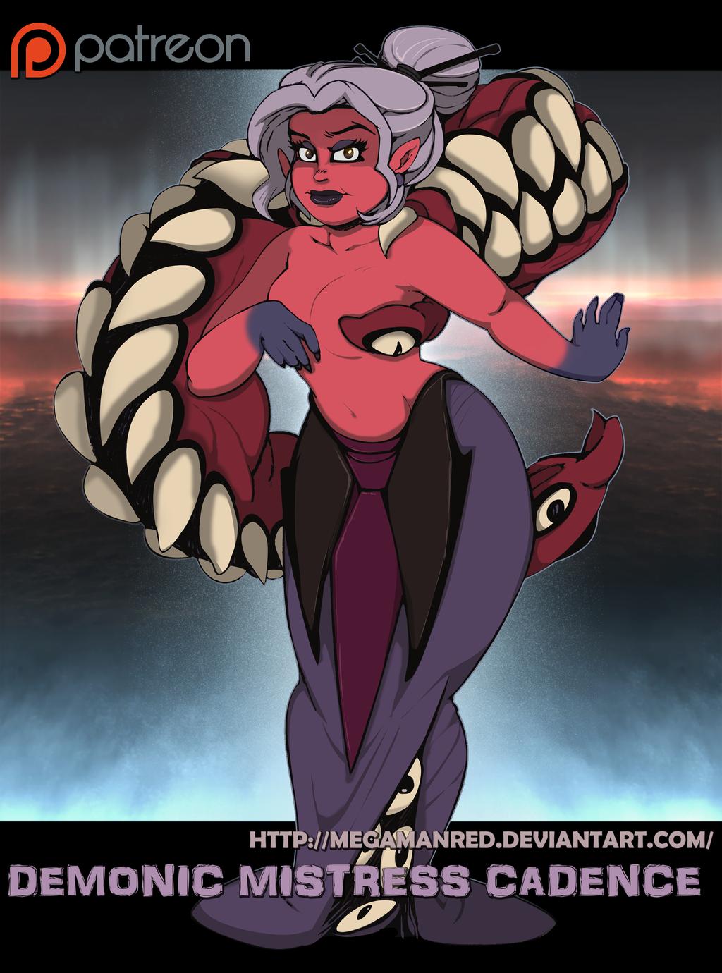 Demonic Mistress Cadence I by Chronorin