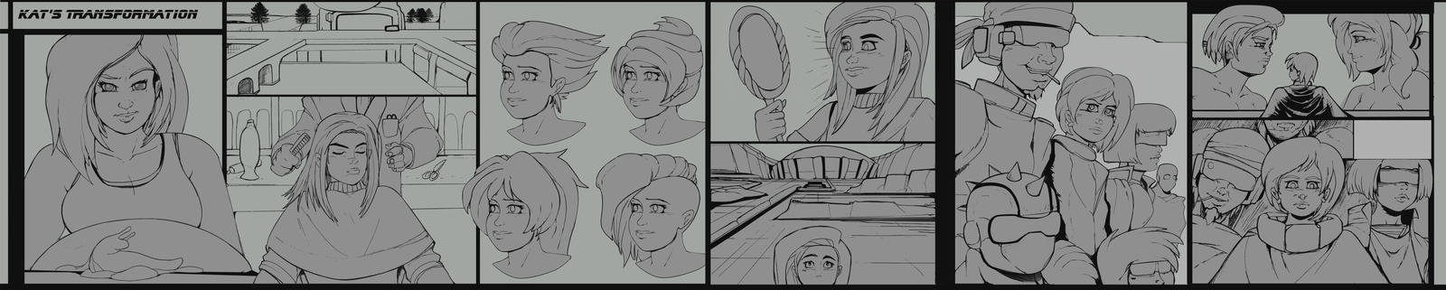 Kat Comic preview... by Chronorin