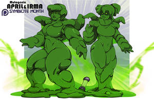 Symbiote IV: Mutagenic April and Irma by Chronorin