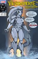 Symbiote XXI: Poison Scream by Chronorin