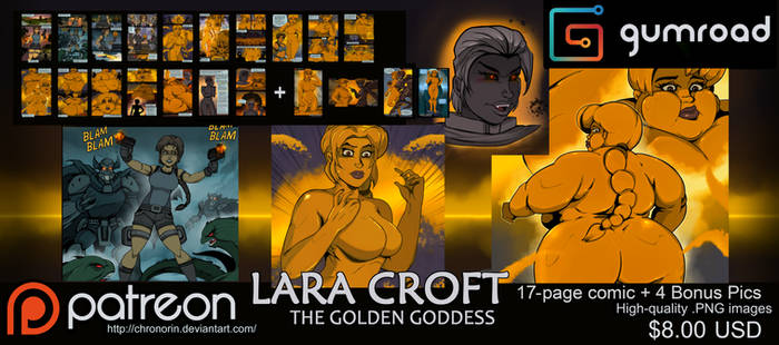 Lara Croft: The Golden Goddess Comic