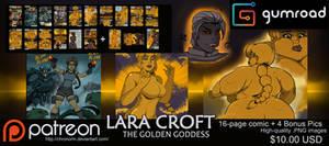 Lara Croft: The Golden Goddess Comic by Chronorin