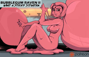 Bubblegum Raven II Preview by Chronorin