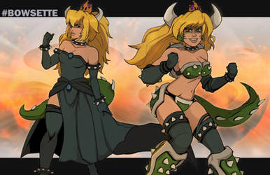 Bowsette by Chronorin