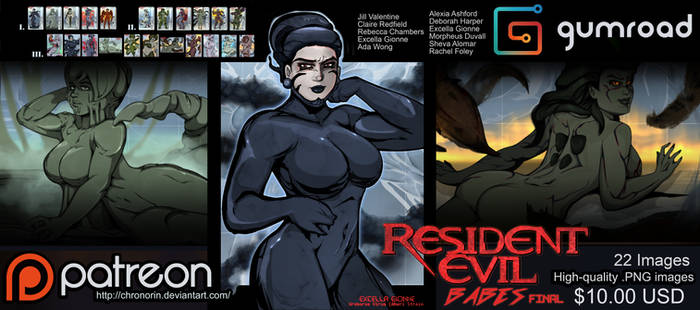 Resient Evil Babes: FINAL