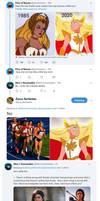 She-Ra Tweets