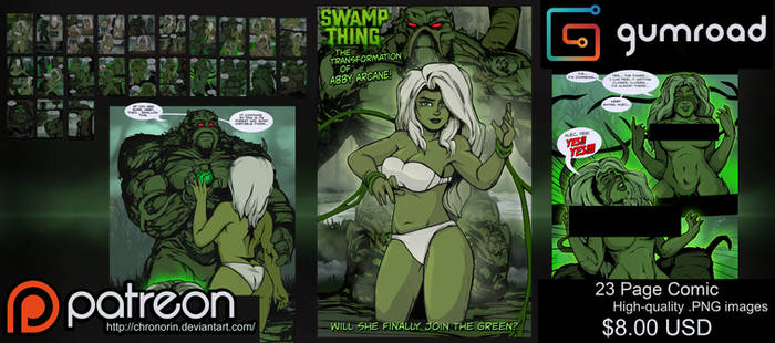 Swamp Thing: The Transformation of Abby Arcane