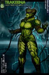 Trakeena: Insect Monster Queen