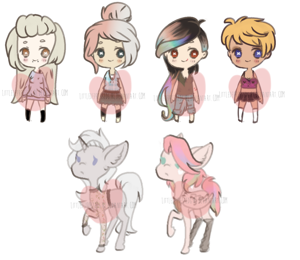 Human ponies for auction 10