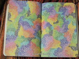 Fill The Page With Circles - Wreck This Journal by JennyArchibald