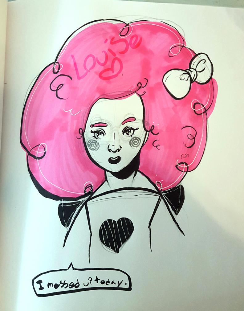 Daily sketch by JanetteLowen