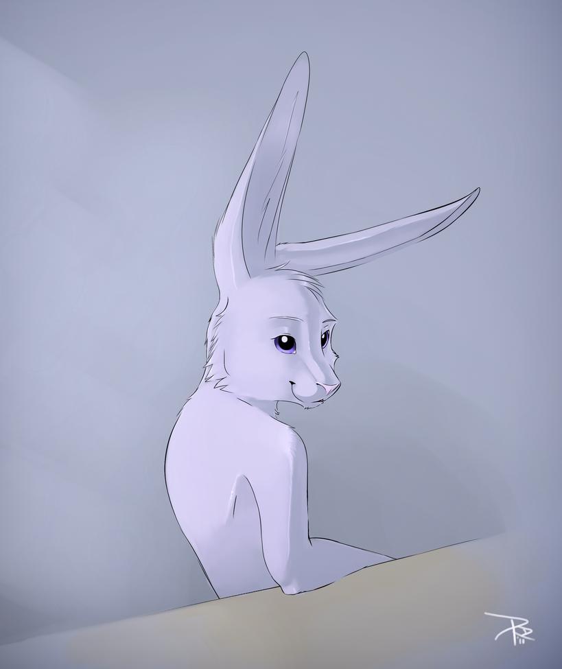 Bunny 02 by renadrawer