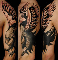 freehand eagle by Robert-Franke