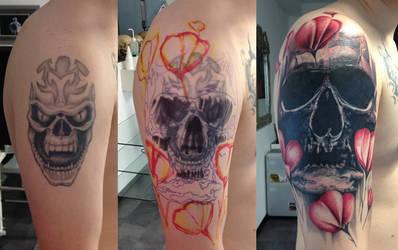 cover up skull by Robert-Franke
