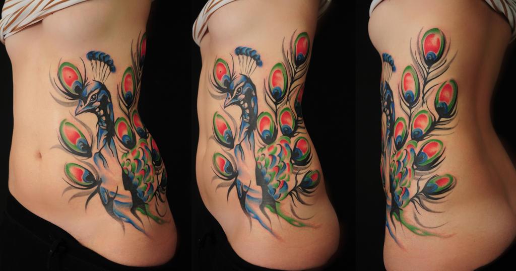 peacock by Robert-Franke