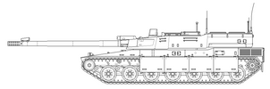 HT9A8 Developmental Prototype [Uncoloured] by SixthCircle