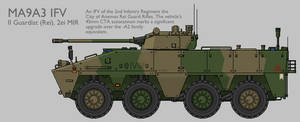 MA9A3 WMAV IFV Production Standard [Graphic]
