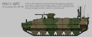 MA11 MAV(T) APC Production Standard [Coloured]