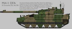 MA11 MAV(T) DFA Production Standard 1 [Coloured] by SixthCircle