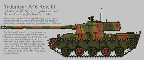A46 Rev. III Medium Tank [Graphic Coloured] by SixthCircle