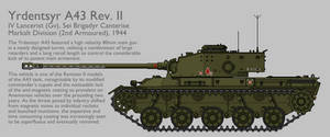 A43 Rev. II Medium Tank [Graphic|Coloured]