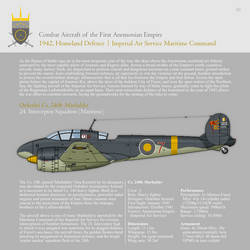 Aircraft of the First Anemonian Empire II (1942) by SixthCircle